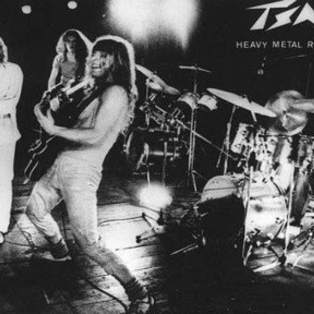 group x started off in playing music for local heavy metal and rock radio station Bands with numbers in their name after reading a magazine letter about bands with numbers in their names radio 9 nine below zero 10.