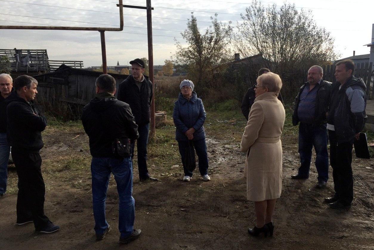Рабочая встреча в Хуторе Миасском